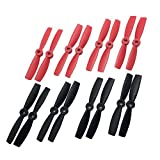RAYCorp? 4045 4x4.5 Propellers. 16 Pieces(8 CW, 8 CCW) 4-inch Quadcopter and Multirotor Props + 1 battery strap by RAYCorp