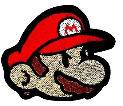 Birdo Costume (Mario Patch (3.5 Inch) Embroidered Iron / Sew Badge Applique Costume Cosplay Mario Kart / Snes / Mario World / Super Mario Brothers / Mario Allstars)