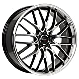 rims for 2014 jeep cherokee - Drifz Vortex 18x8 Machined Black Wheel / Rim 5x4.5 & 5x120 with a 35mm Offset and a 74.10 Hub Bore. Partnumber 302MB-8805735