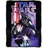Star Wars Classic - Darth Night 46x 60 Micro Raschel Throw