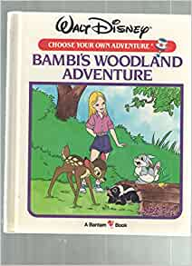 Bambi's Woodland Adventure (Walt Disney Choose Your Own