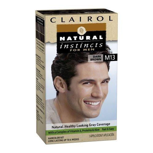Natural Instincts de Clairol couleur de cheveux pour hommes M13 Brun foncé 1 Kit (Pack de 3)