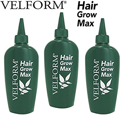 Velform Hair Grow Max - Loción crecepelo: Amazon.es: Salud y ...