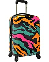 """Traveler's Choice Camouflage 21"""" Hardside Carry-On Spinner Luggage"""