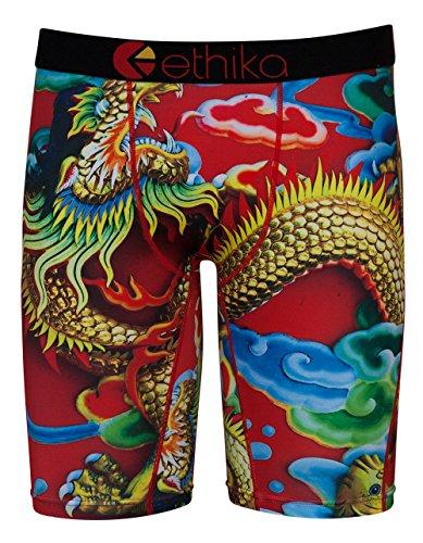 ETHIKA Dragon Staple Boxer Briefs