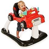 Kolcraft 4x4 2-in-1 Activity Baby Walker, Racer Red