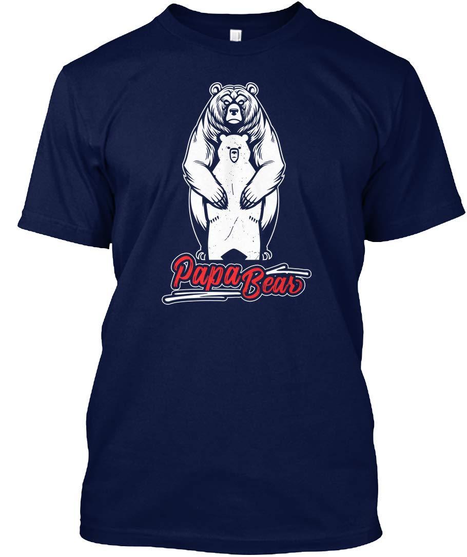 Papa Bear Amazing Tshirt Tagless Tee 4152