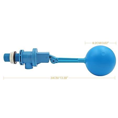 M.Z.A Wasser-Schwimmerventil mit verstellbarem Arm Schwimmerventil Absperrautomatik 3//4 Schwimmerventil f/ür Wassertank