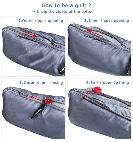 norsens hiking cing backpacking sleeping bag