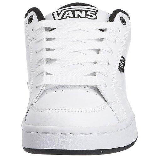 Vans Casual Uomo White/Black Genuina Línea Barata Colecciones De Descuento xyv5V8w8