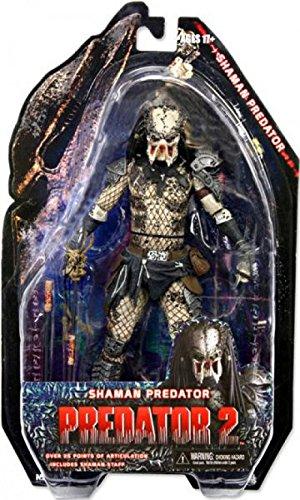 NECA Predators 2010 Movie Series 4 Action Figure Shaman Predator ()