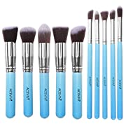 Amazon Lightning Deal 92% claimed: ACEVIVI BESTOPE Makeup Brushes Premium Cosmetics Brush Set Synthetic Kabuki Makeup Brush, Foundation, Blending Blush, Eyeliner, Face Powder Brush Kit(10PCs, Pink + Golden)