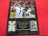 Antonio Brown Ben Roethlisberger Steelers 2 Card Collector Plaque w/8x10 Photo!