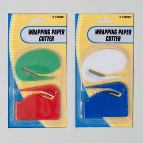 DD Wrapping Paper Cutter - 2 Pack(pack Of 48)