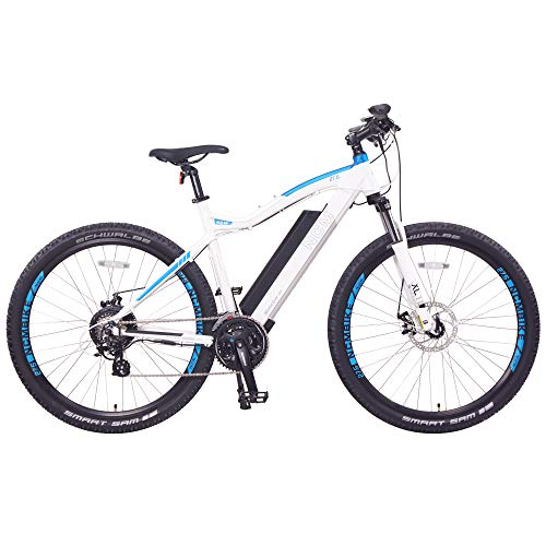 NCM Moscow Electric Mountain Bike 624Wh 48V/13AH Matte White 27.5""