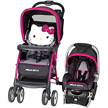 Amazon Com Baby Trend Hello Kitty Venture Travel System