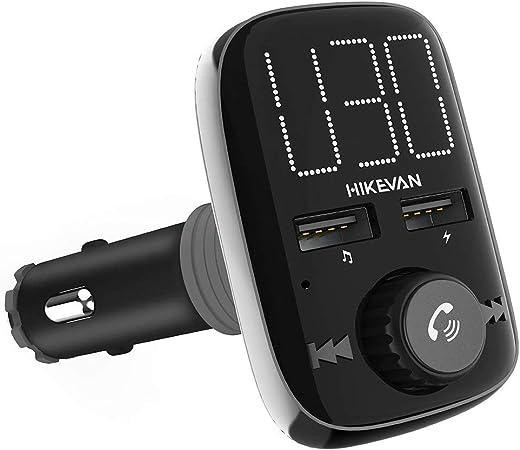 Car Bluetooth Fm Transmitter Stereo Musik Player Car Elektronik