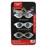Speedo Adult Swim Goggles Set - 3 Pack