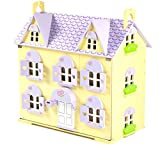 Berrybee Cottage Wooden Dolls' House with Complete Sweetbee 100+ Piece Furniture Set by Big Game Hunters