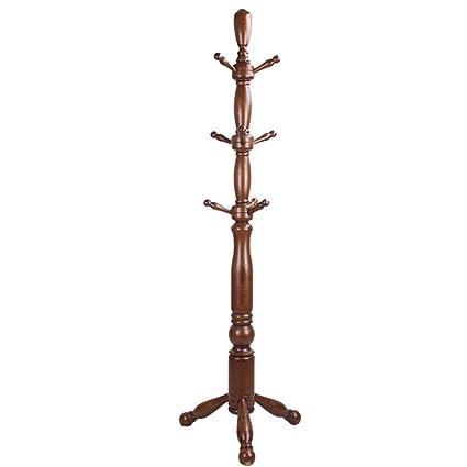 Bon Solid Wood Coat Rack Indoor Bold Rack Landing Coat Rack Office Hanger  Fashion Hangers Living Room