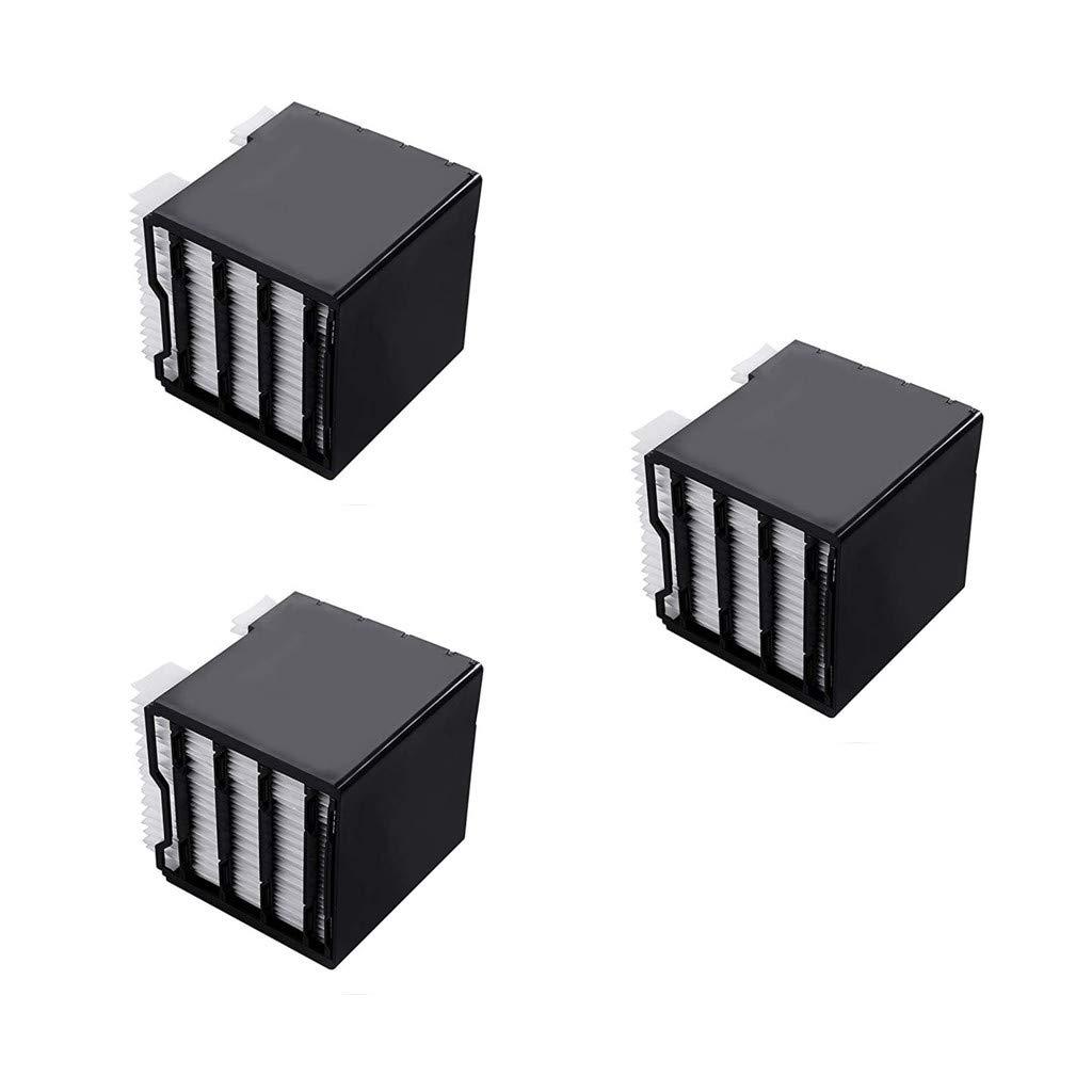 Muium Filtre de climatisation 2/3pcs, pour le refroidisseur d'espace de filtre de rechange pour le refroidisseur d'espace personnel Arctic Air (Blanc, 3pc)