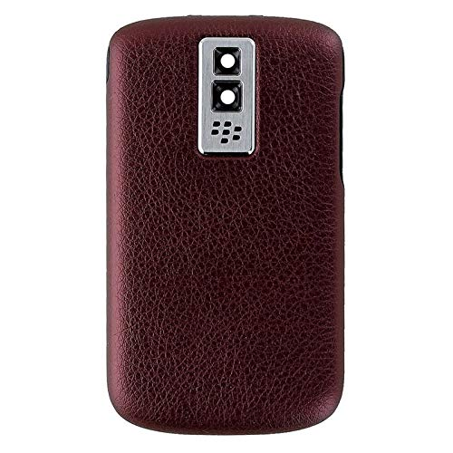 - BlackBerry Bold 9000 OEM Replacement Battery Door Back Cover - Dark Red (Certified Refurbished)