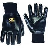 Custom Leathercraft 2080L PVC Gloves with Knit Wrist, Large