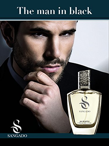 Sangado The Man in Black Perfume Spray for Men 50 ml 626