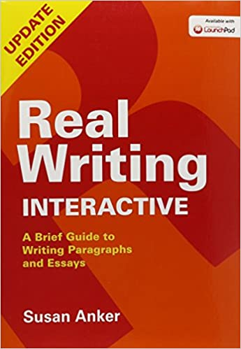 com real writing interactive a brief guide to writing  real writing interactive a brief guide to writing paragraphs and essays updated edition
