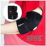 KYUSport Adjustable Neoprene Tennis Golfers Elbow Brace Wrap Arm Support Strap Band
