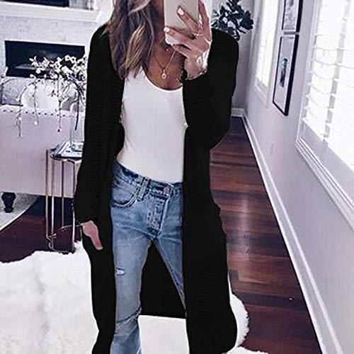 Bobo Donna Cardigan Invernale Cappuccio Giacca Streetwear Cappotto Per 88 Inverno Calda Abbigliamento Autunno Unique Stlie Con Schwarz j3AL54R