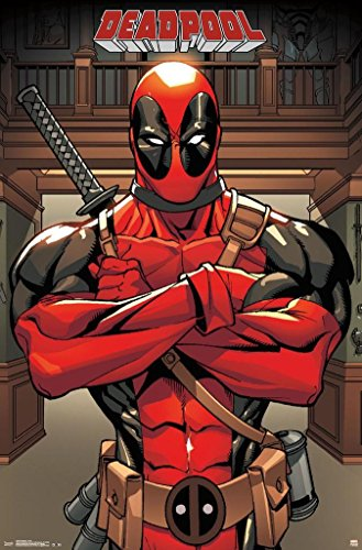 Trends International Deadpool Pose Collector's Edition Wall Poster 22.375'' x 34'' -