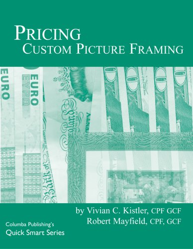 Pricing Custom Picture Framing (Quick Smart Series)