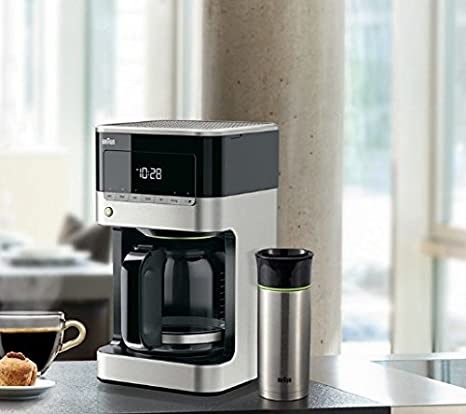Marrón brsc 001 Taza térmica para cafetera eléctrica: Amazon.es: Hogar