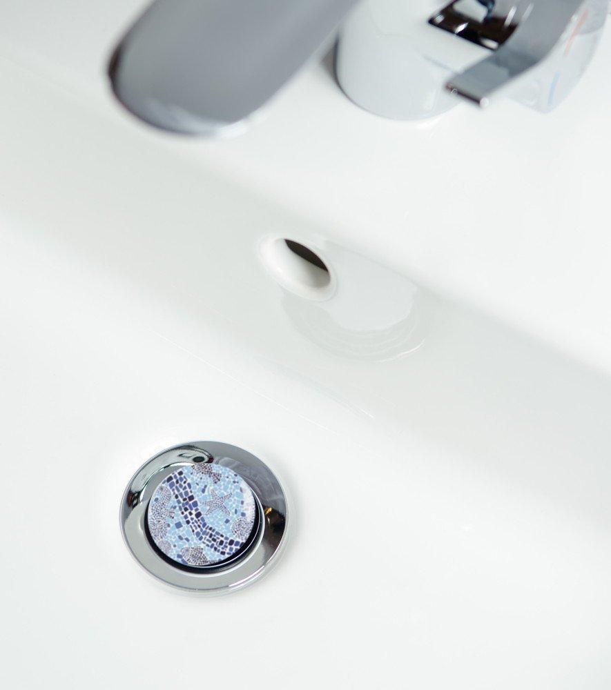 Wash Basin Plug Mosaic World | High Quality Basin Plug | Easy to insert into the wash basin ✶✶✶✶✶ SANILO