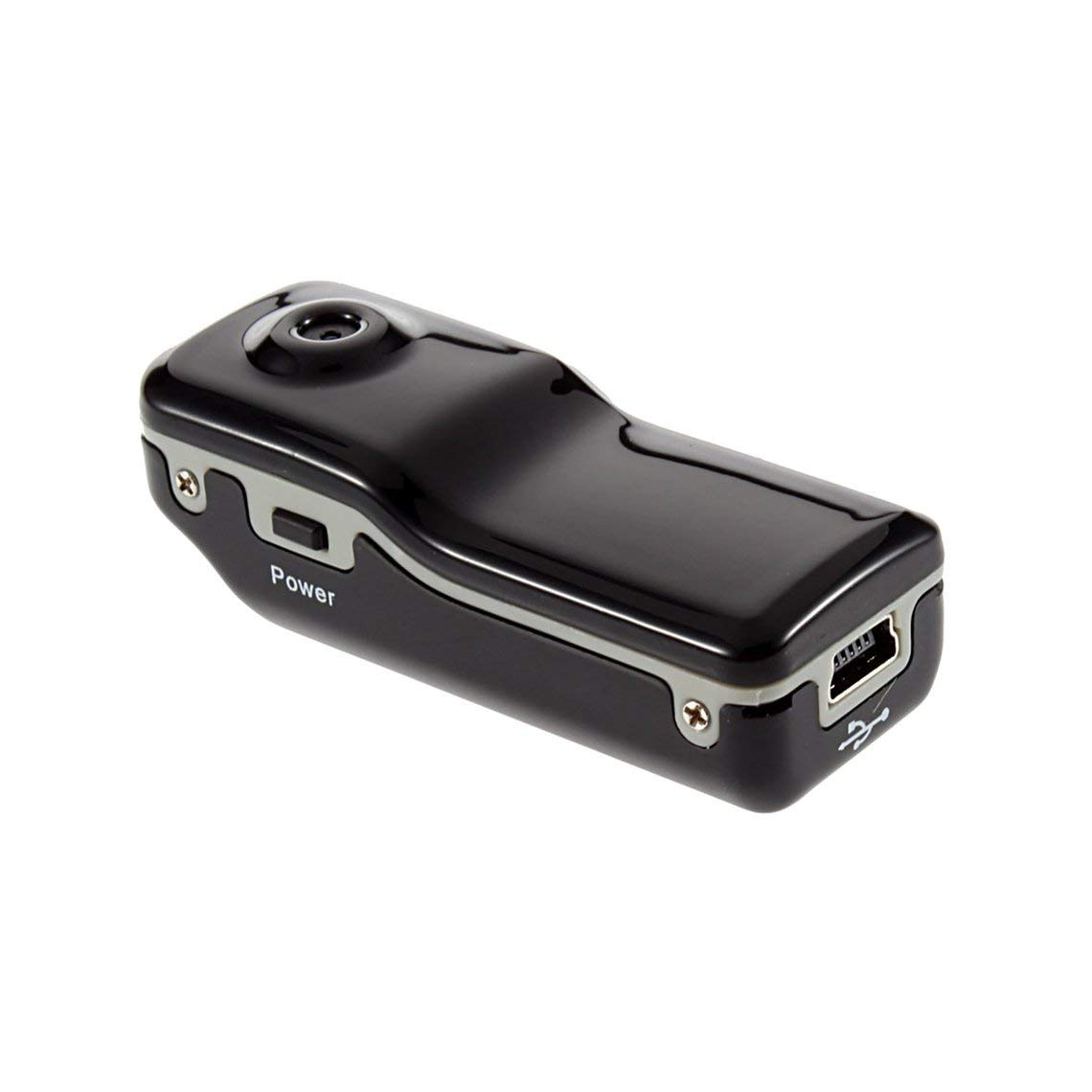 Zinniaya MD80 Mini videoc/ámara Compatible con c/ámara de Red Mini DV c/ámara de grabaci/ón Compatible con Tarjeta 8G TF 720 480 Vedio c/ámara de grabaci/ón