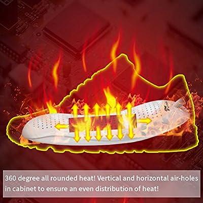 KOODER Boot Dryer,Shoe Dryer,Foot Dryer ! Eliminate Bad Odor and sanitize Shoes!
