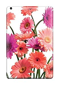 High Impact Dirt/shock Proof Case Cover For Ipad Mini/mini 2 (gerbera Daisy Cluster)