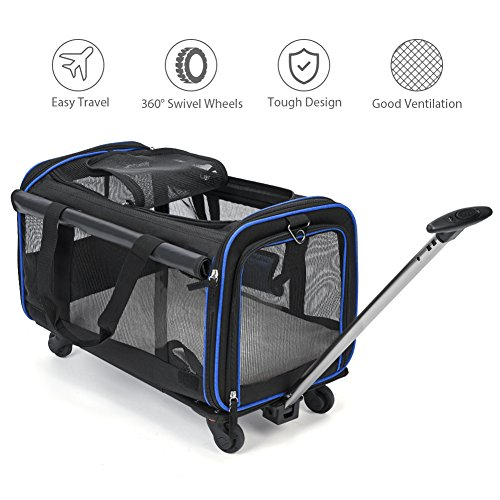 Cat Stroller With Detachable Carrier - 7