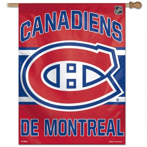 Wincraft Montreal Canadiens Licensed Vertical Flag 27