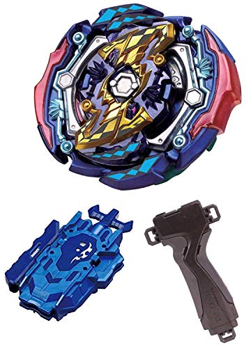 - BEYBLADE Burst B-142 Booster Judgement Joker .00T.Tr Zan + B-119 Bey Launcher LR Blue + B-109 Launcher Grip Gunmetallic 3-Piece Set Takara Tomy [Japan Import]