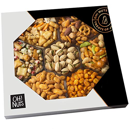 Oh! Nuts Exotic Snacks Party Assortment Food Gift