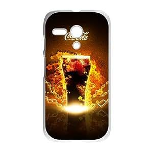 Coca Cola Motorola G Cell Phone Case White gife pp001_9296655