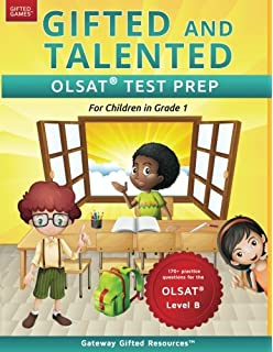 Amazoncom Gifted And Talented Olsat Test Prep Grade 2 Gifted Test