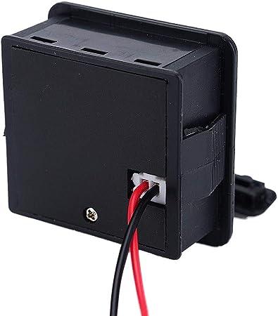 Indicateur de capacit/é de Batterie au Plomb 12 V Testeur de Charge Module daffichage de la Tension du t/él/éphone