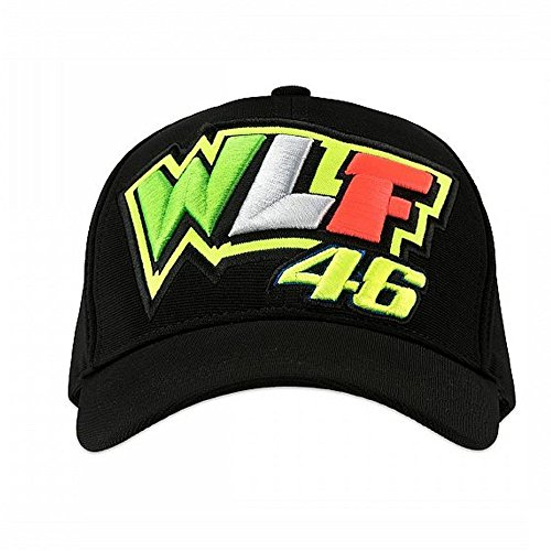 (Valentino Rossi VR46 WLF 46 Cap Black)