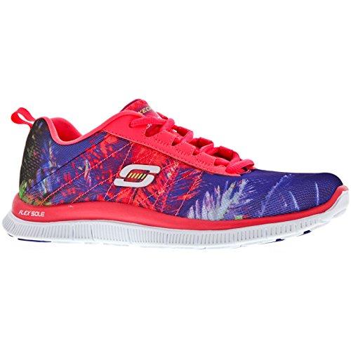 deporte de TRADE FLEX mujer Coral para Zapatillas Skechers APPEAL xzXIUpzq