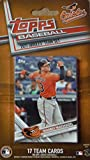Baltimore Orioles 2017 Topps MLB Baseball Factory Sealed Special Edition 17 Card Team Set with Manny Machado Plus