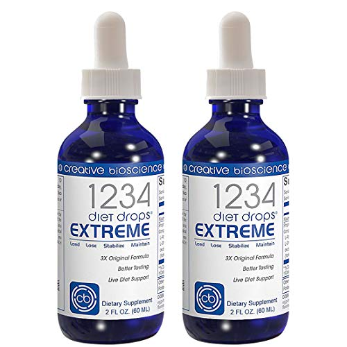 Creative Bioscience 1234 Diet Drops Extreme 2 Pack
