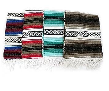 Mexican manta fabricado en México para mantas, Yoga o ...